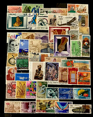 Israel Stamps  #51 All  Different Lot 12820E