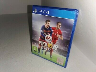 NEW Factory Sealed FIFA 16 2016 Game for PS4 Playstation 4 English Region Free