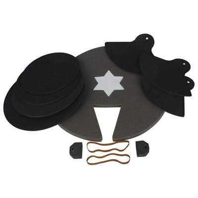 8-Piece Drum Set Silencer Practice Pads Mute with Cymbal Mutes High Quality F1T2