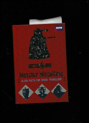BBC:Doctor Who Monster Of Miscellany HC Alien Facts for Space Travellers