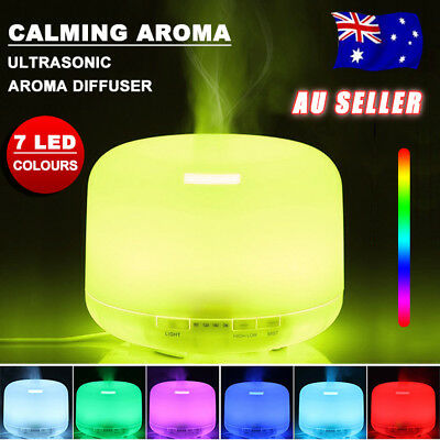 500ml Essential Oil Humidifier Aroma Diffuser Ultrasonic Air Mist Aromatherapy