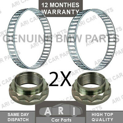 2X FRONT ABS RING /& ABS Ring Retainer For HYUNDAI GETZ i10 i20