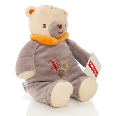 Fisher Price Baby 28cm Teddy Bear Soft Toy Plush With Rattle Cuddle Gift