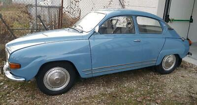 SAAB 96 V4 DeLuxe coupé