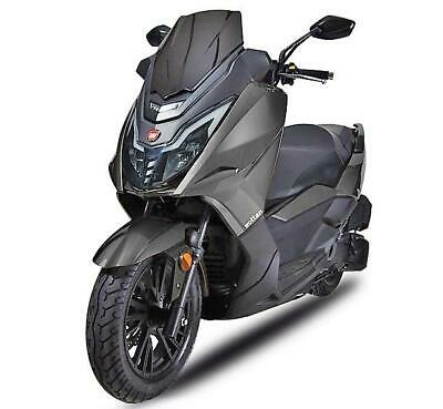 New SCOOTER Wottan 125 STORM-T Gray