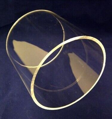 10mm x 8mm Round Clear Acrylic Tube 1mm Wall Thickness 50mm up to 600mm Long