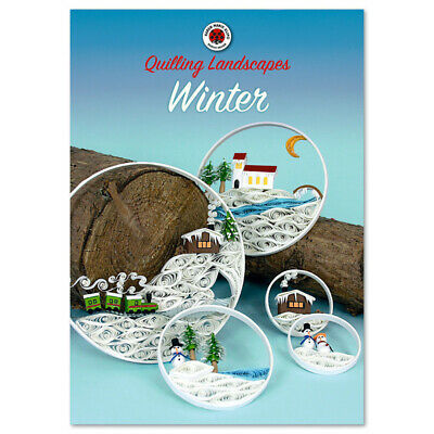 Karen-Maries Landscapes Winter, Quilling Anleitungs Heft