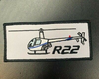 PPL044 ROBINSON R44 HELICOPTER VEL-KRO UNIFORM PATCH