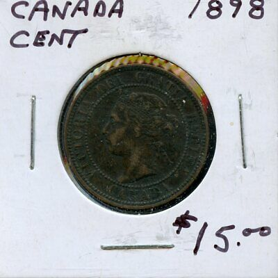 1898 Canada Large Cent Canadian Coin FP768