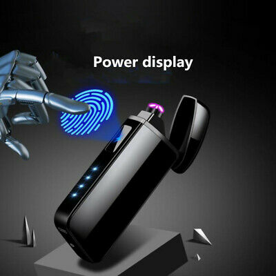 Cigarette Lighter Windproof USB Touch Dual  Electric Pulse Plasma touch sensor