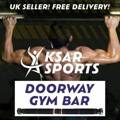 ***NEW*** Doorway Pull Up / Chin Up Bar - Fitness Home Gym Push Exercise