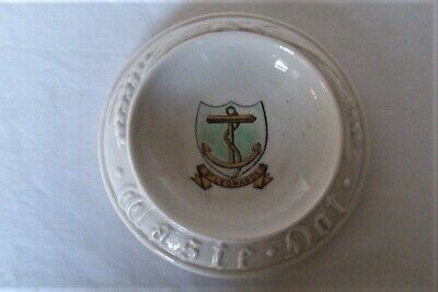 Crested Ware China Goss St Leonard's  Bread Board     East Sussex