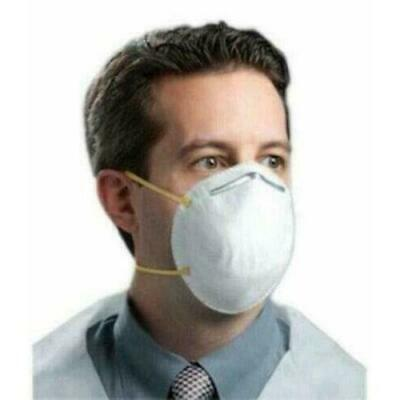 NIOSH N95 Disposable Particulate Respirator Mask Filters Viruses - 20 Count Pack