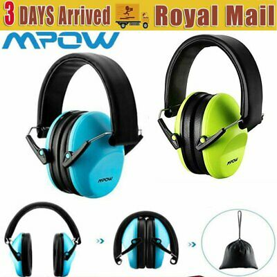 Mpow Kids Baby Muffs Hearing Protection Children Ear Defender 25dB Insulation UK