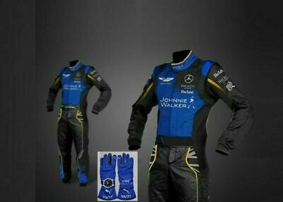 New Kart Racing AMG Racing Suit FIA CIK Approved and Karting Gloves and Gift