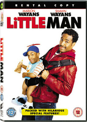 Little Man DVD (2007) Marlon Wayans cert 12 Incredible Value and Free Shipping!
