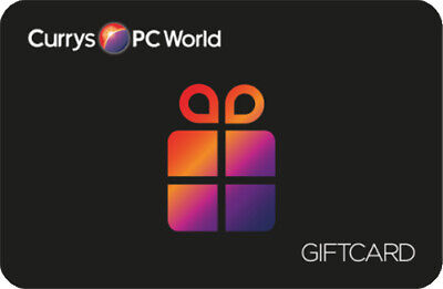 Currys PC World Gift Card Voucher Value £400 NO PAYPAL.