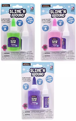 SLIME 'N' AROUND MAKING KIT Sensory Toys D.I.Y Kid's Learning Toys Random Color