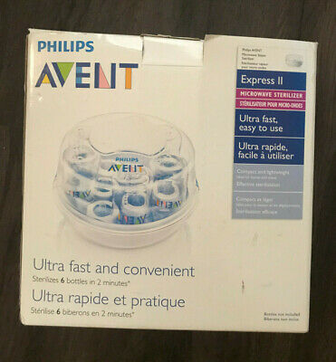 Philips Avent Express II Microwave Sterilizer