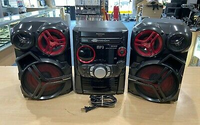 Panasonic SC-AK323 - CD Stereo System Pre-owned Free Shipping