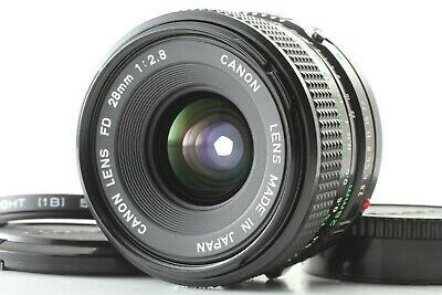 [MINT] Canon New FD 28mm F/2.8 NFD Wide Angle MF Lens From JAPAN 0012