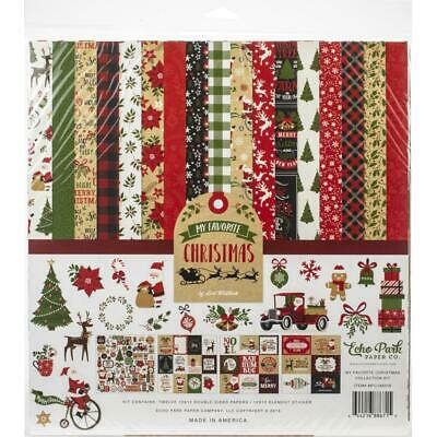 Echo Park Collection Kit - MY FAVORITE CHRISTMAS - papers & stickers
