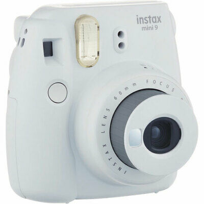 Fuji Fujifilm Instax Mini 9 Instant Camera - Smokey White