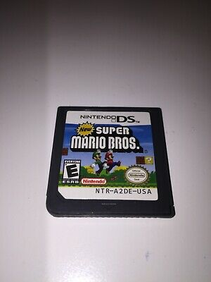 Super Mario Bros Nintendo DS Game Cartridge Only
