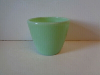 Fire-King Jadeite Custard Cup Anchor Hocking Jadite HTF Jade-ite Rare