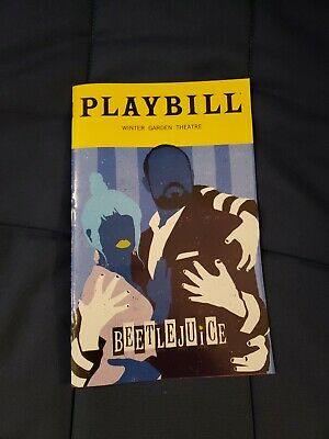 Beetlejuice Musical Broadway February 2020 Exclusive Playbill Charles Delia