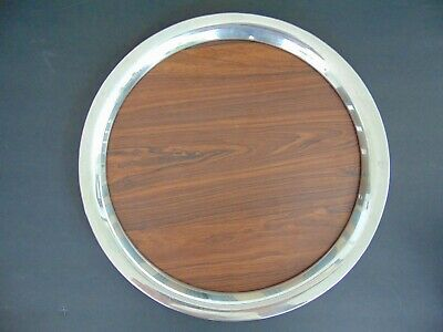 VINTAGE MID CENTURY MODERN STERLING SILVER & FORMICA TRAY by S.KIRK & SON