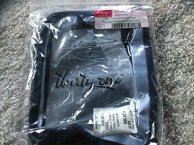 Thirty-One Gifts Thirtyone 31 Get Creative Rectangle Pouch BRAND NEW Dot Trio