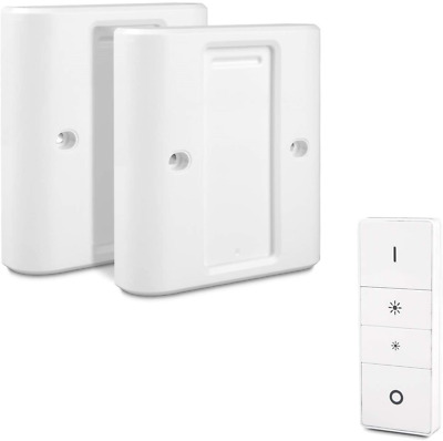Light Wall Switch Cover for Philips Hue Dimmer Switch (2 Packs)
