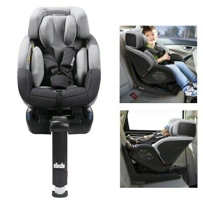 Car Seat Child Baby Isofix 360° Booster Recline for Group 0+/1 9-36kg ECE R44/04