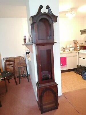 Grandfather clock mahogany case
