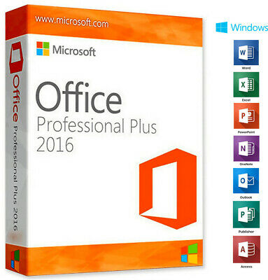 Office 2016 Professional Plus - (Licenza a Vita)