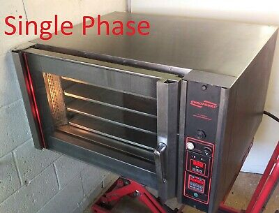 Eurofours 04TR 4 Tray Single Phase Convection Bake Off Oven 5kW +1 year Warranty