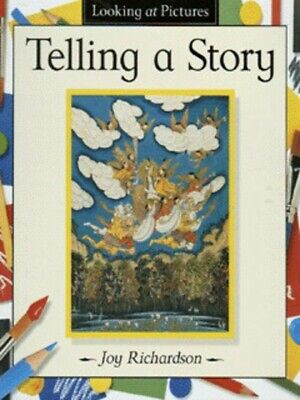 Looking at pictures: Telling a story by Joy Richardson (Hardback) Amazing Value
