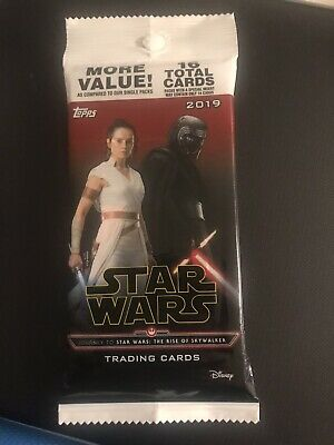 2019 Topps Star Wars Rise Of Skywalker Guaranteed Relic/Patch/Auto Card