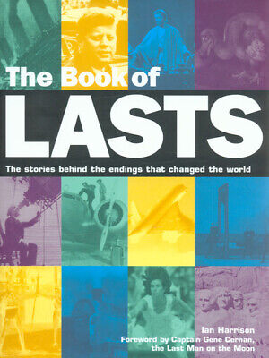 The book of lasts by Ian Harrison (Hardback) Incredible Value and Free Shipping!