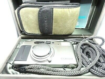 【Top Mint in Box】Contax TVS 35mm Point & Shoot film Camera from JAPAN