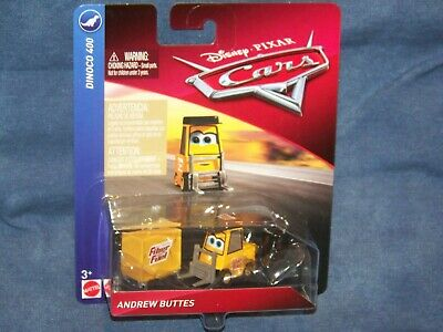 Rare Voiture Disney Pixar Cars 1 Andrew Buttes Fiber Fuel Pitty Piston Cup1