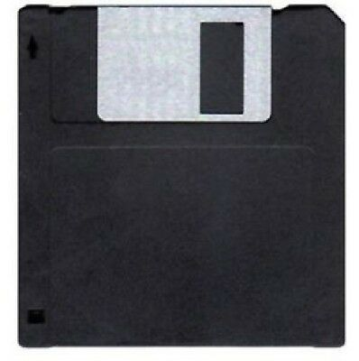 MF2DD 10X Disc Micro Floppy Disk Double Sided Double Density 720KB