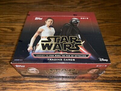 2019 Topps Stars Wars Journey to The Rise of Skywalker 24 Packs Trading Card Box