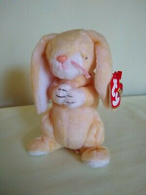 PE Pellets Mint w// Tag Ty Beanie Babies Grace the Praying Bunny 2000