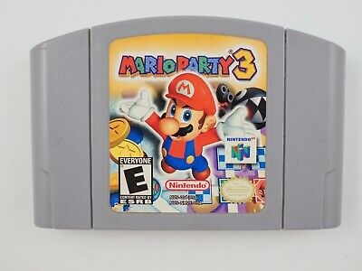 Mario Party 3 for Nintendo 64 N64 *US-NTSC ONLY! GENUINE* CART ONLY Aus. Seller