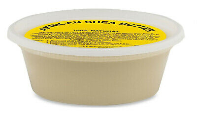 8 oz Raw Organic Shea Butter Pure Virgin Unrefined 1/2 Lb 100%Natural Cold Press