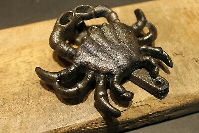Antique Vintage Style Cast Iron Crab Door Knocker Hardware