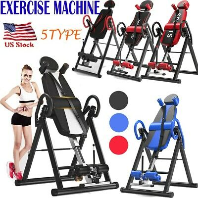 Inversion Table Fitness Chiropractic Back Stretcher Heavy Duty Reflexology Pad🔥