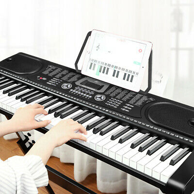 61 Key Electronic Keyboard Electric Music Digital Piano Organ Fit for beginners